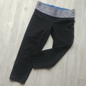 (XS) VS PINK reversible cropped tights!